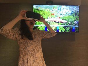 骨鬆學會推出創新衛教工具「骨質流失VR」,呼籲民眾對鈣質流失速度提高警覺(1)