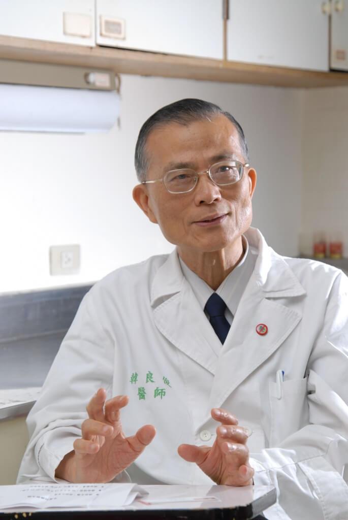35-台灣大學牙醫系名譽教授韓良俊