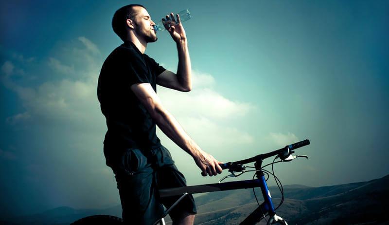 man thirsty