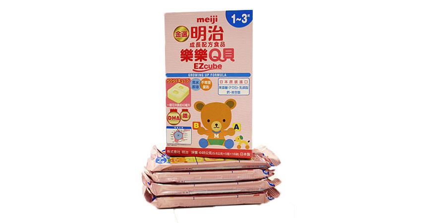 金選明治樂樂Q貝成長配方食品-生醫編輯報告