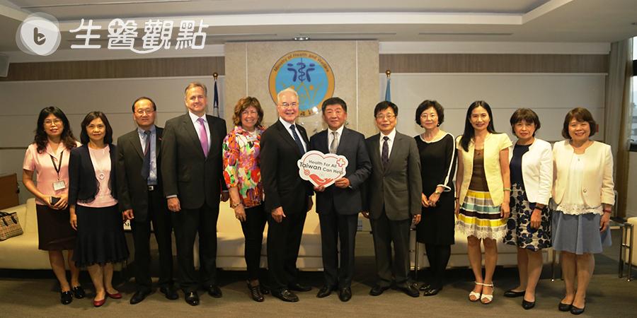 健康是共同人權 美前衛生部長挺臺灣進WHA