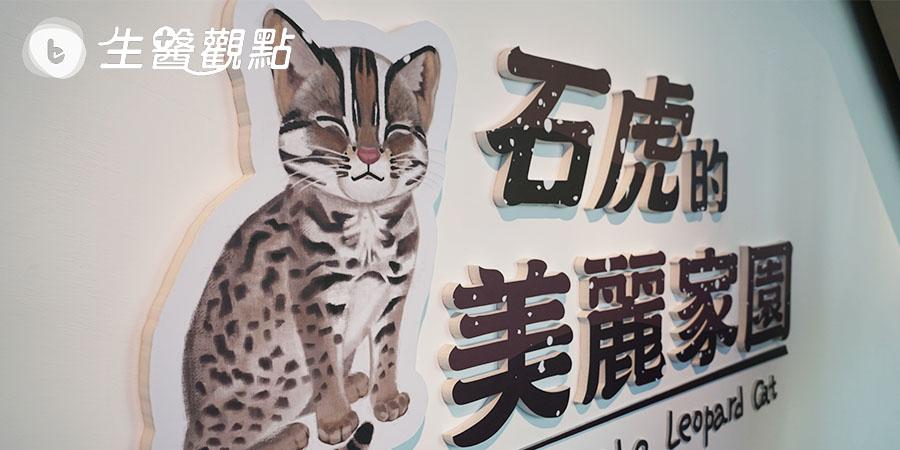 重視臺灣瀕臨物種 科博館推《石虎的美麗家園》特展