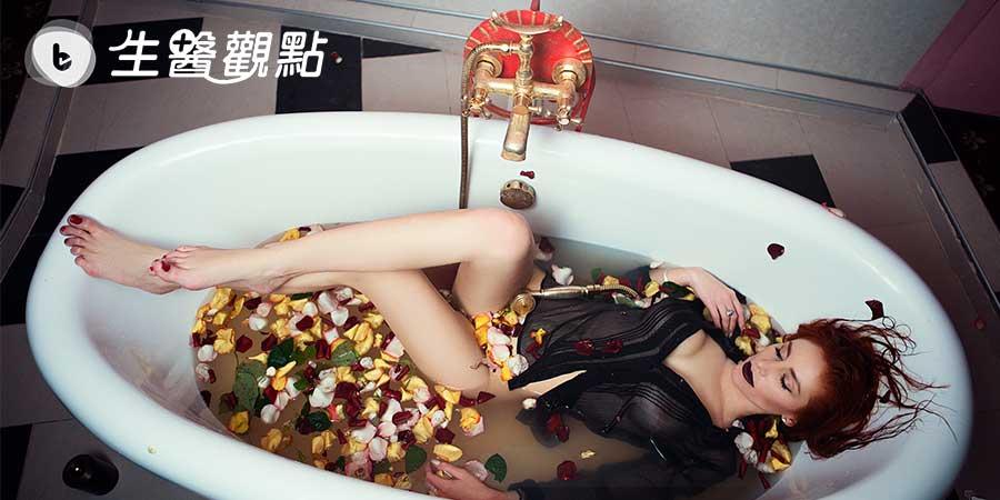 美國科學家發現洗澡時間、水溫影響睡眠品質